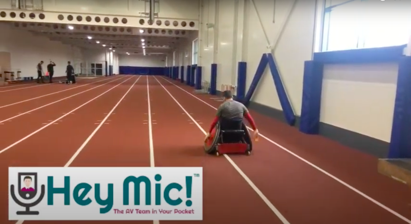 Testing the distance range with Hey Mic!
