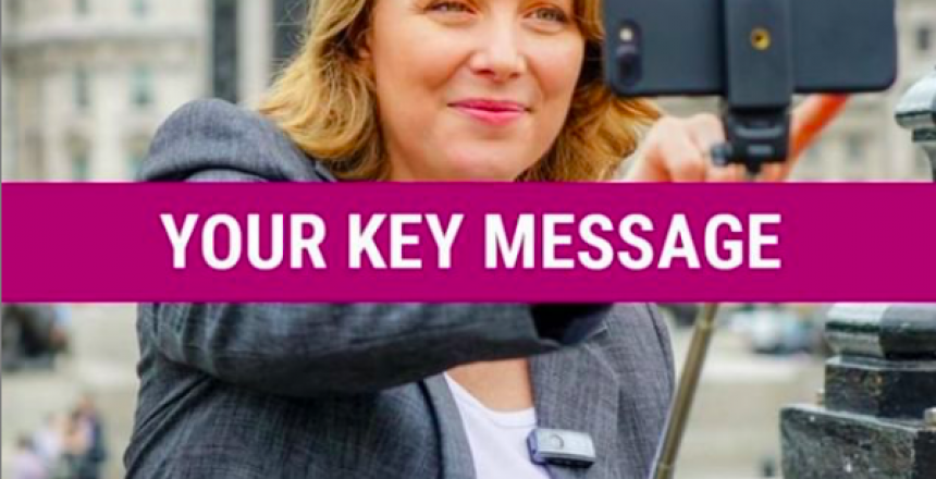 Hey Mic video blog - key message